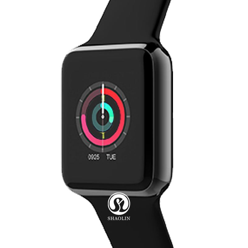 New bluetooth font b smart b font watch Series 3 42mm smartwatch case for apply iphone