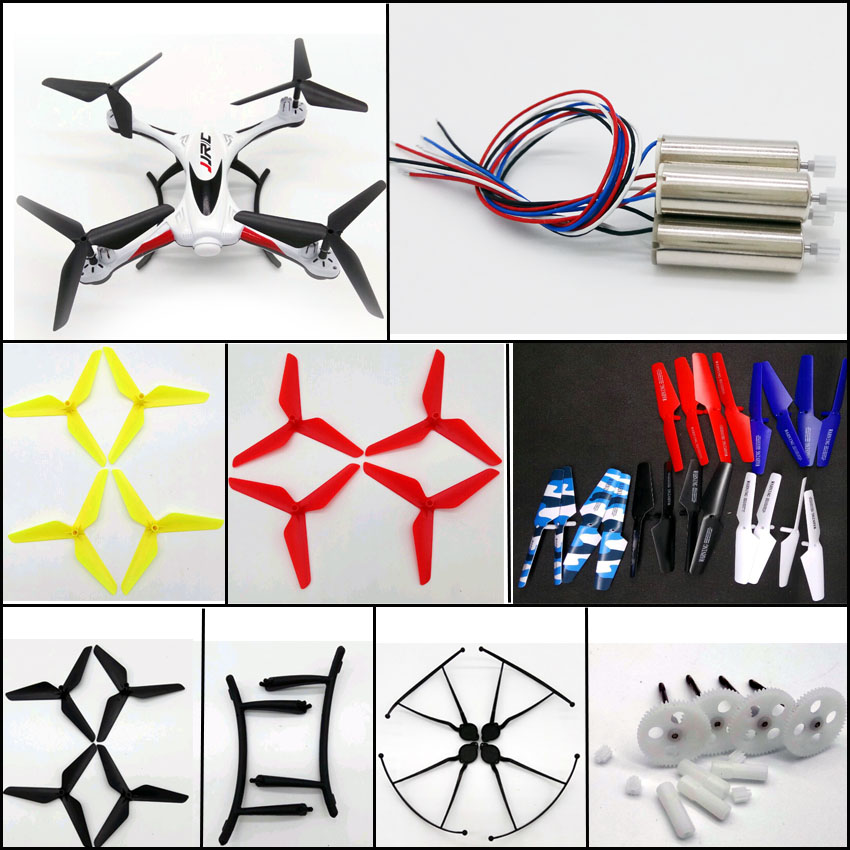 H31 Motor gears main gear propeller engines upgrade blades for jjrc H31 rc font b drone