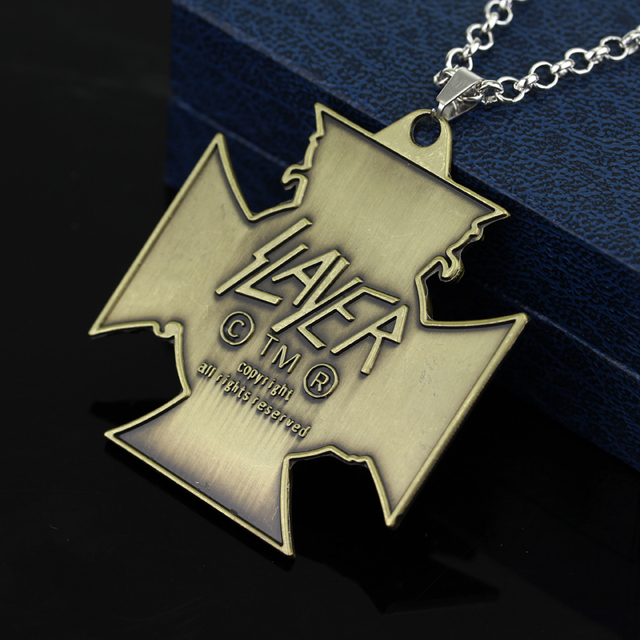 American Speed Metal Band SLAYER Necklace 4