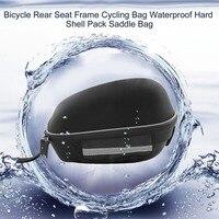 Unisex Cycling Quick Release Zipper Bag Bicycle Repair Tool Bag MTB Road Bike Nylon Rainproof Saddle Bag Rear Seat Frame
