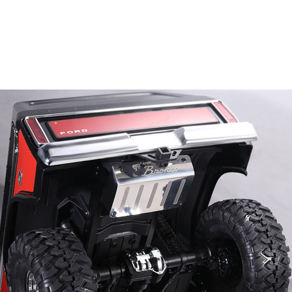 US $24 23 20% OFF|XBERSTAR For DJ TRAXXAS TRX 4 TRX4 Ford BRONCO Metal  Simulation Tank + Exhaust Pipe DJC 9157 Rc Car Parts-in Replacement Parts &