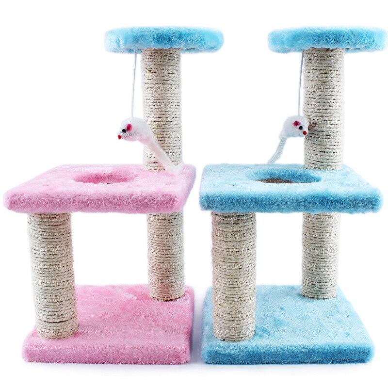 Creative Pet chat trois carré plaque griffoir rack griffes meulage jouet Pet jouet chat meubles pour chats chatons 072204