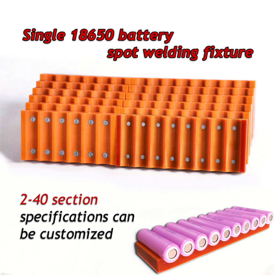 18650 battery fixture Single row battery fixture Strong magnet attraction fixture For 18650 batteries spot welding fixture replacement medical battery for wp 18650 14 4 4400 wp 18650 14 4 5200 wpc09 0092 m05 32442l 05 ecg1201 ecg1201g battery