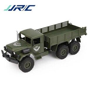 Радиоуправляемый автомобиль JJRC Q63, 1/16 2,4G, 6WD, внедорожный военный автомобиль, гусеничный Радиоуправляемый автомобиль, щетка, мотор с дистанц...