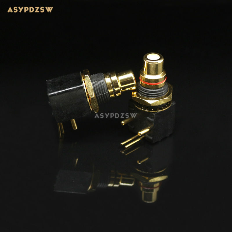 10 pair 24K Gold-plated RCA DAC decoder digital coaxial input and output PCB welding socket шариковая ручка автоматическая index vinson синий 0 7 мм ibp406 bu