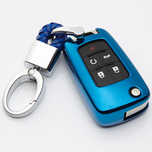 купить KUKAKEY Soft TPU Car Key Cover Case For Buick Excelle Lacrosse Sail Regal GS Encore Verano Remote Car Key Protection Shell дешево