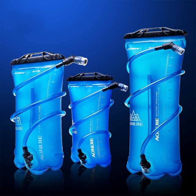 453507657 1 5 3L Outdoor Foldable TPU Soft Water Bag Collapsible Sport Straw  Hydration Bladder For Camping
