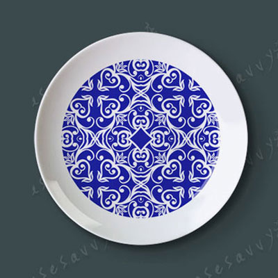 8  Blue And White Creative Dish Of Ceramic Dish Plate Hanging Wall Hangings Western Dessert  sc 1 st  AliExpress.com & Aliexpress.com : Buy 8