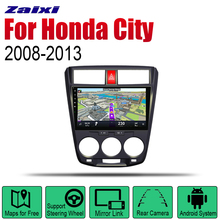 Android 2 Din Auto Radio For Honda City 2008~2013 Car Multimedia Player GPS Navigation System Stereo