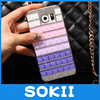 3D Luxury Bling Crystal Fashion Designed Diamond Rhinestones Case Back Hard Cover For LG x screen / LG X View K500DS Case