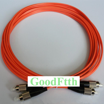 Fiber Patch Cord Jumper Cable FC-FC Multimode OM2 50/125 Duplex GoodFtth 20-100m fc to st multimode fiber patch cord fc st fiber patch cable upc polish mm optical fiber jumper duplex om2 ofnp 3m 5m 10m 15m