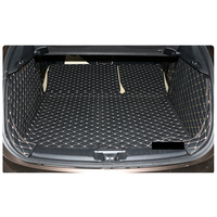 lsrtw2017 leather car trunk mat cargo liner for infiniti qx30 2016 2017 2018 2019 2020 accessories covers styling stickers