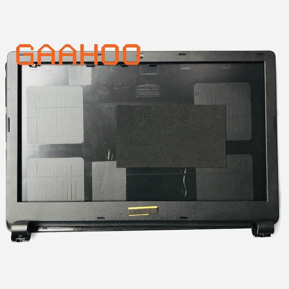 Ordinateur portable remplacer cas pour ou Acer Aspire E1-510 E1-530 E1-532 E1-570 E1-532 E1-572G E1-572 LCD revêtement arrière et panneau frontal Noir