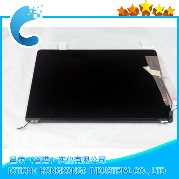 Original New Early 2015 A1502 Full Display Assembly for Macbook Pro Retina 13 A1502 LCD Screen Complete Assembly new 11 6 full lcd display touch screen digitizer assembly upper part for sony vaio pro 11 svp112 series svp11216px svp11214cxs