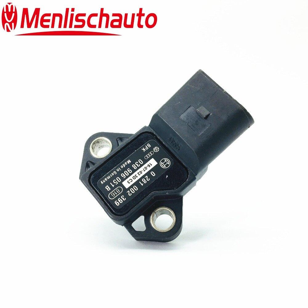 0281002399 038906051B 2.5 Bar Turbo MAP Sensor Air Pressure Sensor For German Cars Seat Skoda