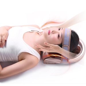 Image 4 - Neck Traction Cervical Posture Pump Air Filled Vertebra Correction Tractor Relaxing Massager Spine Muscle Relief Pain Device