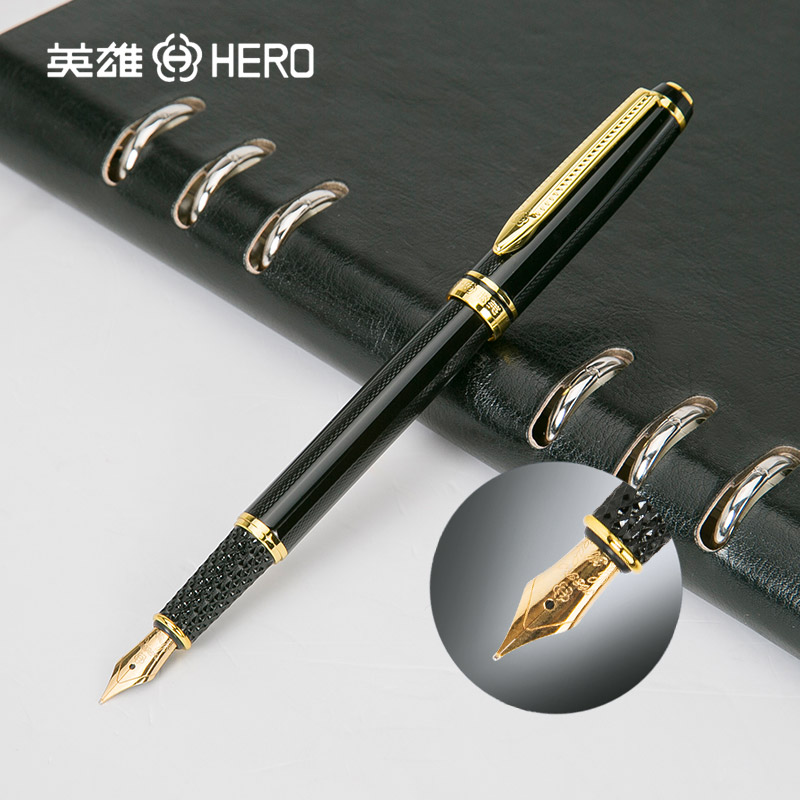 Best Price! High Quality Original Hero 1072 Fountain Pen  Medium Nib 0.5mm Ink Pens Fashion Gift high quality best price 22 mm mechanical seal