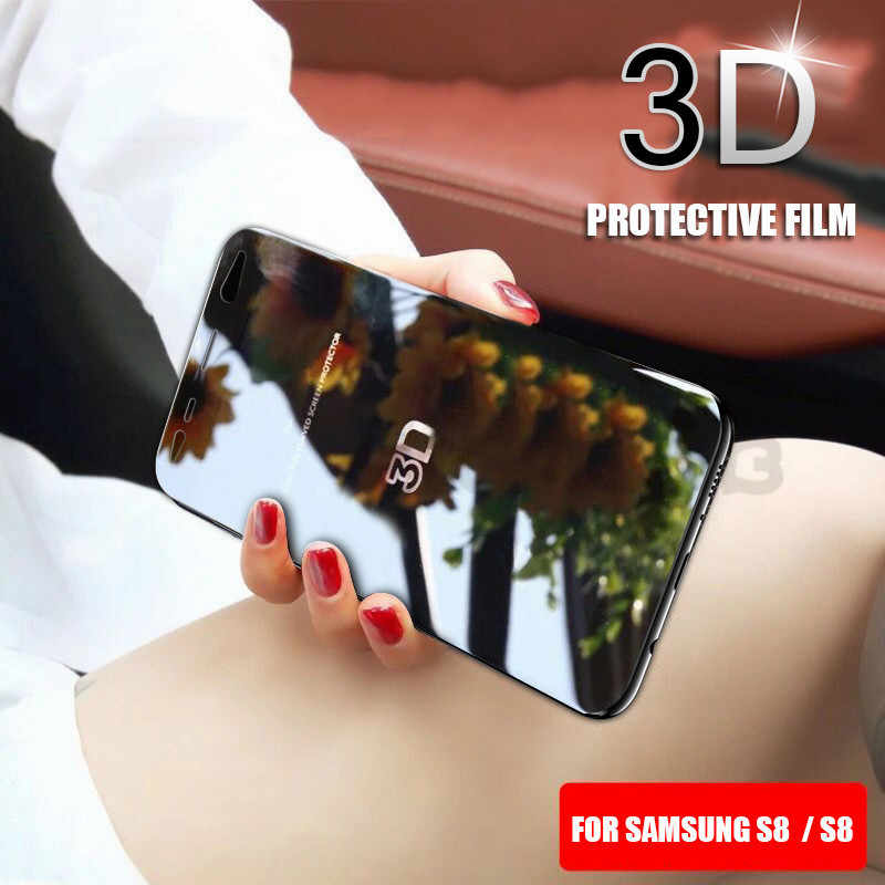 Full Cover 3D Curved PET Soft Screen Protector For Samsung Galaxy S9 S8 S8+ Note 8 9 S7 S6 edge Plus Film Not Tempered Glass