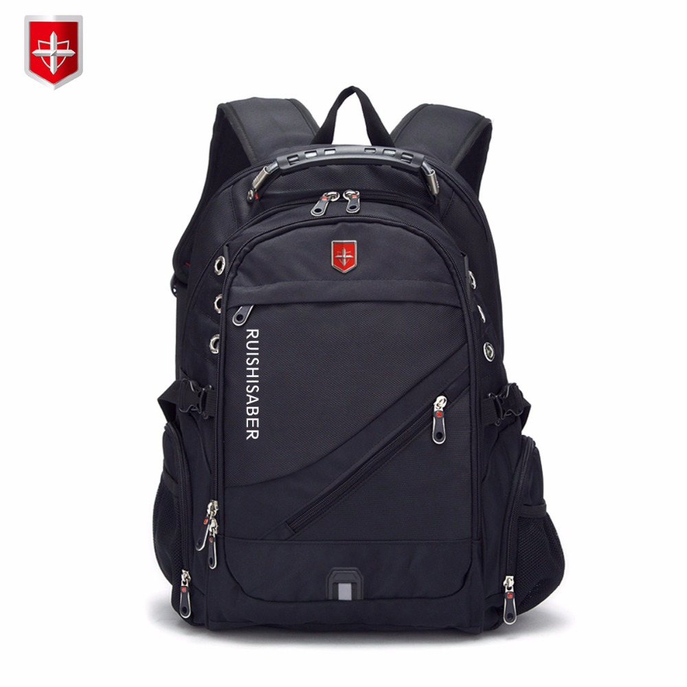 New Oxford Swiss Backpack Man External Charging Usb 15/17 Inch Laptop Women Travel Rucksack Vintage School Bags Bagpack Mochila