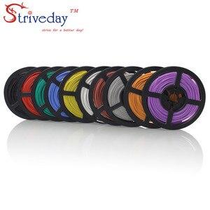 10 метров 22 AWG гибкий многожильный силиконовый провод RC кабель 22AWG 60/0.08TS наружный диаметр 1,7 мм Электрический провод кабель 10 цветов