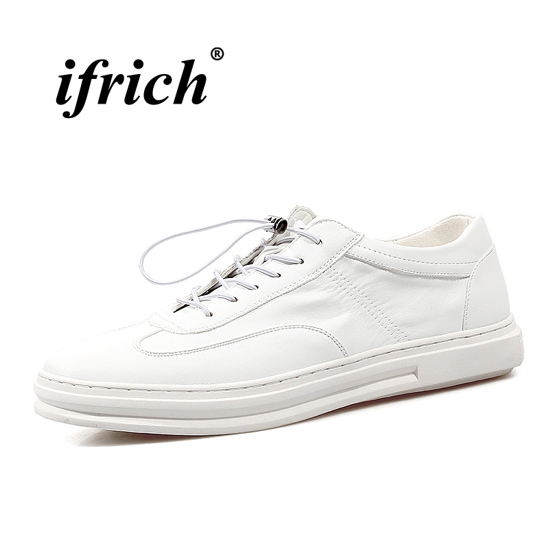 Man Casual Shoes Black White Classic Shoes Spring Autumn Male Flat Footwear Comfortable Rubber Bottom Walking Shoes Man