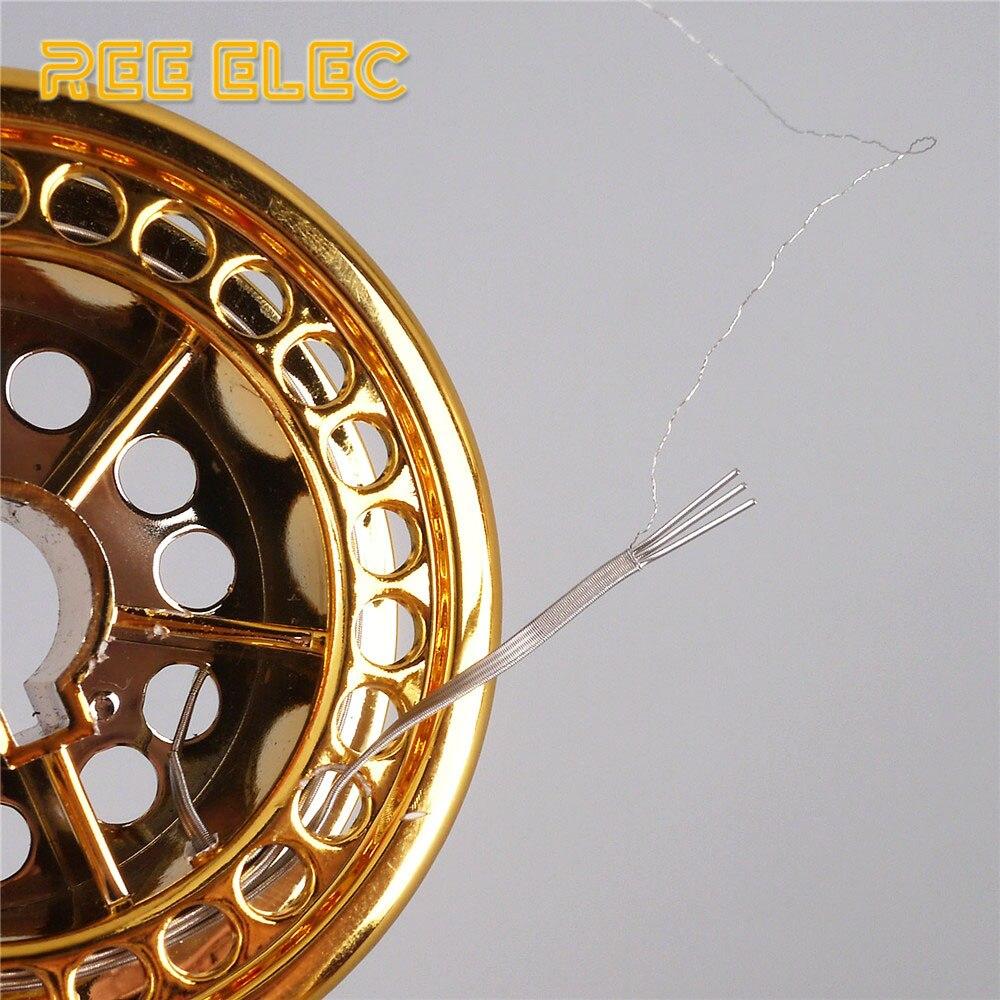 REE ELEC 5 mt/Rolle Alien Clapton Nichrom Draht RDA RTA Zerstäuber ...