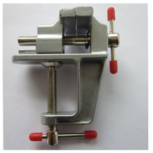 Free Shipping New Mini Aluminum Bench Table Swivel Lock Clamp Vice Craft Jewelry Hobby Vise
