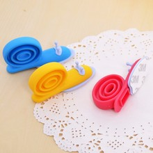 New 3pcs Cute Cartoon Snail Silicone Wedge Doorstops Stopper Children Baby Safety Protector Doorway