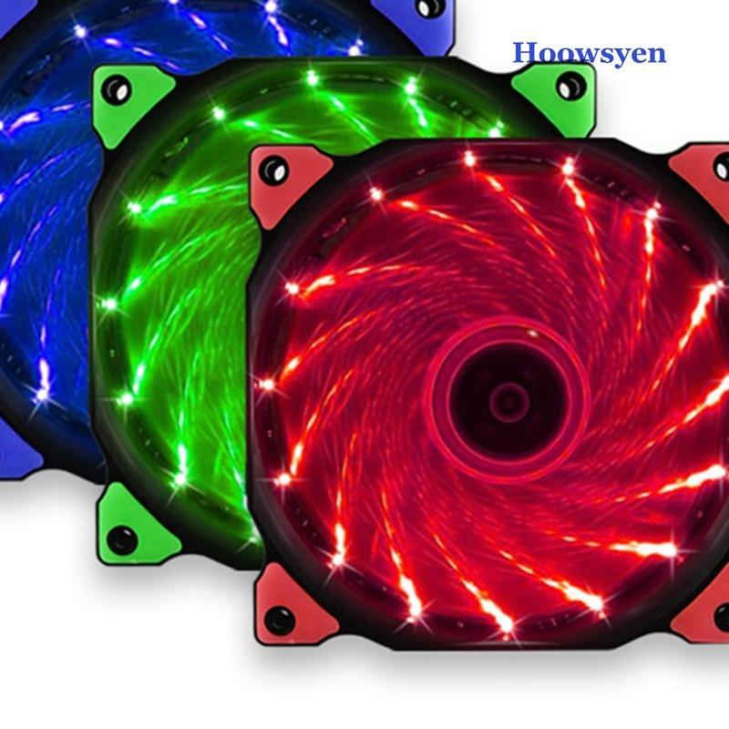Воды Система Жидкостного Охлаждения не ЦП воды охлаждающий вентилятор 12 см свет для настольного компьютера 15 Светодиодная лампа кабинет мо...