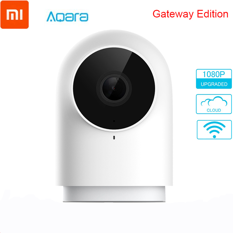 Original Xiaomi Aqara Smart Camera 1080P G2 Gateway Zigbee Linkage IP Wifi Webcam Cloud Security Smart Devices Pk Dafang Camera