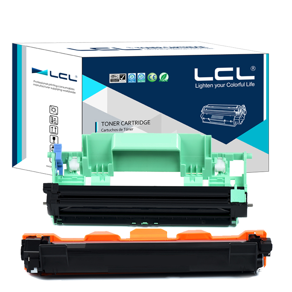 LCL TN1075 TN 1075 DR1075 DR 1075 (2-pack ) Black  Toner Cartridge Compatible for Brother HL1110/1110R/1112/1112R/MFC1810/1810R eichholtz витрина