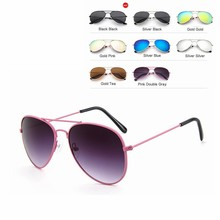 Aviation sunglasses For Boy And Girl Pilot Sun Glasses Child