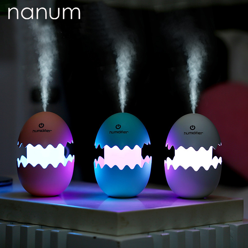 цена на Car air freshener Aroma Essential Oil Diffuser Ultrasonic Air Humidifier Egg Mini Portable Fogger Aromatherapy Humidifiers