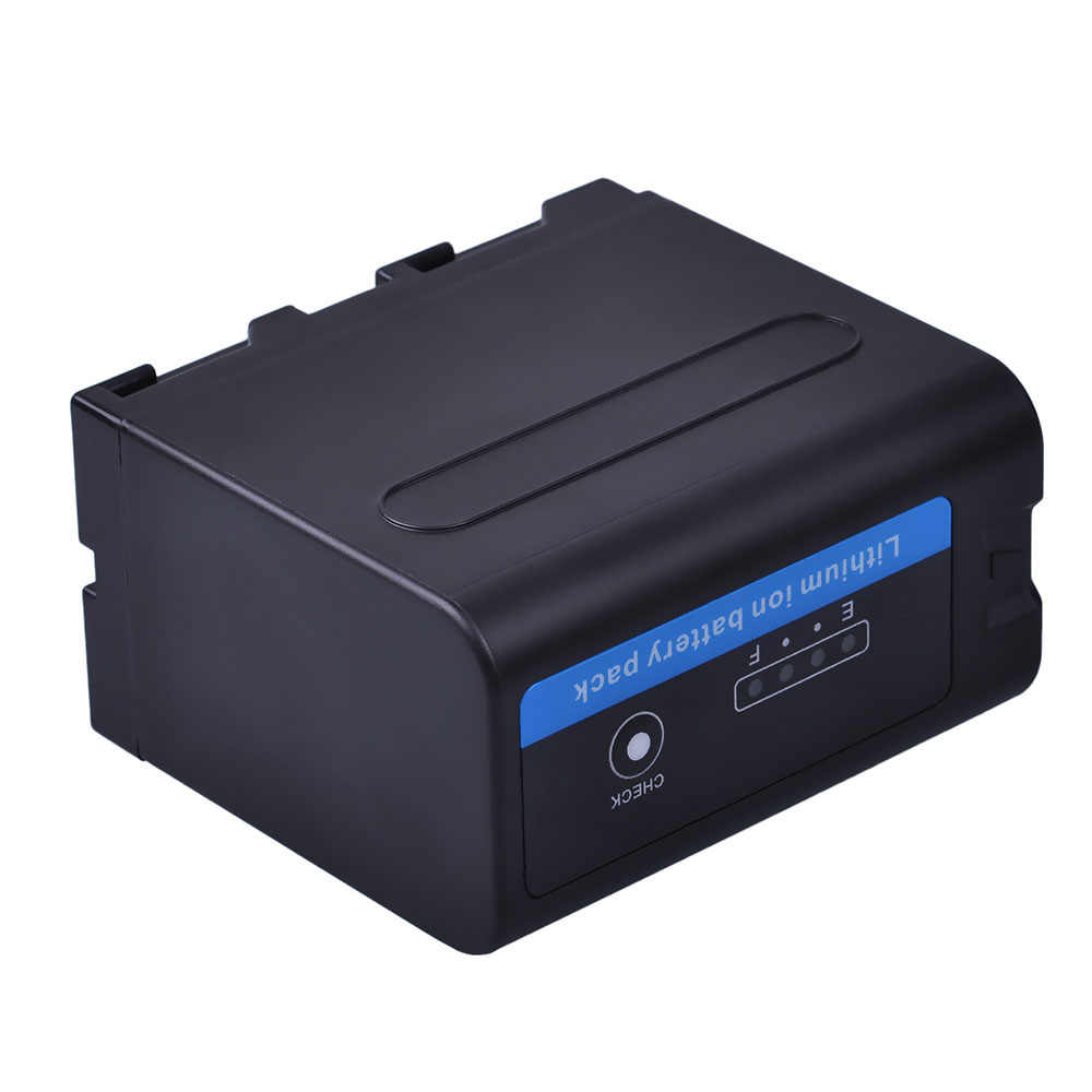 1 قطعة 7200 مللي أمبير NP-F960 بطارية NP-F970 مع LED مؤشرات الطاقة لسوني F960 F550 F570 F750 F770 MC1500C 190P 198P F950 HD1000C