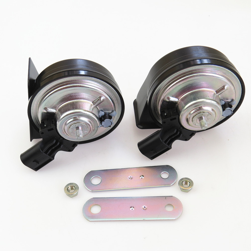 FHAWKEYEQ Car Tweeter Horns Speaker Buzzer For VW EOS Caddy Touran Rabbit Beetle Passat B6 B7 Golf MK5 Jetta MK6 MK5 1K0951223A-in Multi-tone & Claxon Horns from Automobiles & Motorcycles    1
