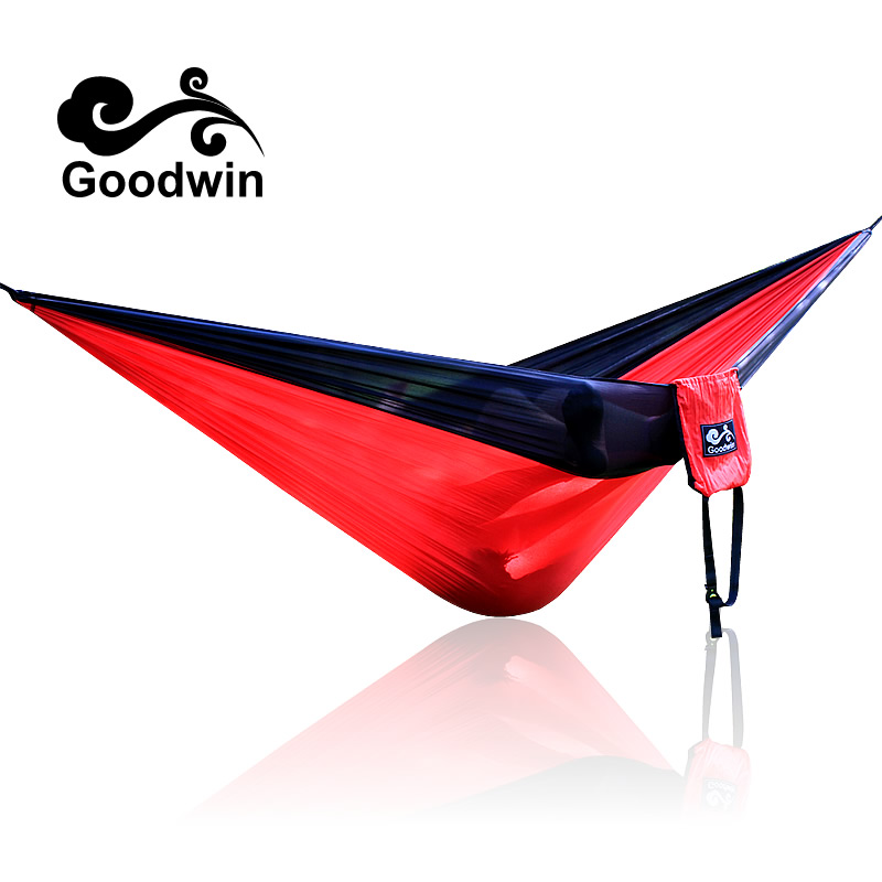 260*140cm 300*200cm Portable Nylon Parachute Hammock Camping Survival Garden Hunting Leisure Hamac Travel Double Person Hamak 300 200cm 2 people hammock 2018 camping survival garden hunting leisure travel double person portable parachute hammocks