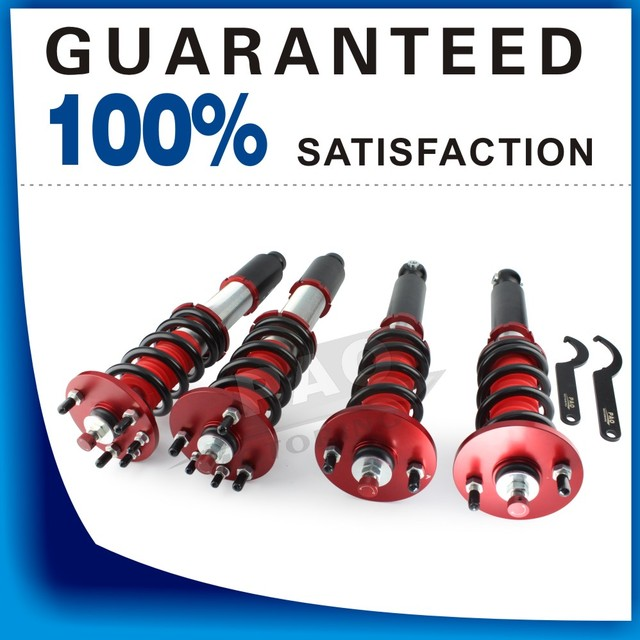 Coilover Suspens Shock Absorber New For Honda Accord 2003-2007 Acura TSX 2004-2008 36ways Adjustable Damper Coilover Spring Kit