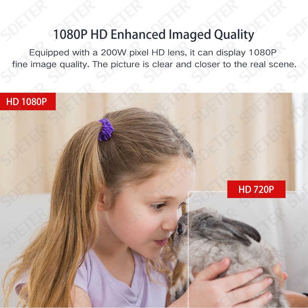 SDETER 1080 P Wifi камера наружная камера наблюдения с датчиком PTZ скоростной Купол беспроводная IP CCTV камера безопасности Поворотная камера с увеличительным объективом IR двухсторонняя аудио камера внешняя