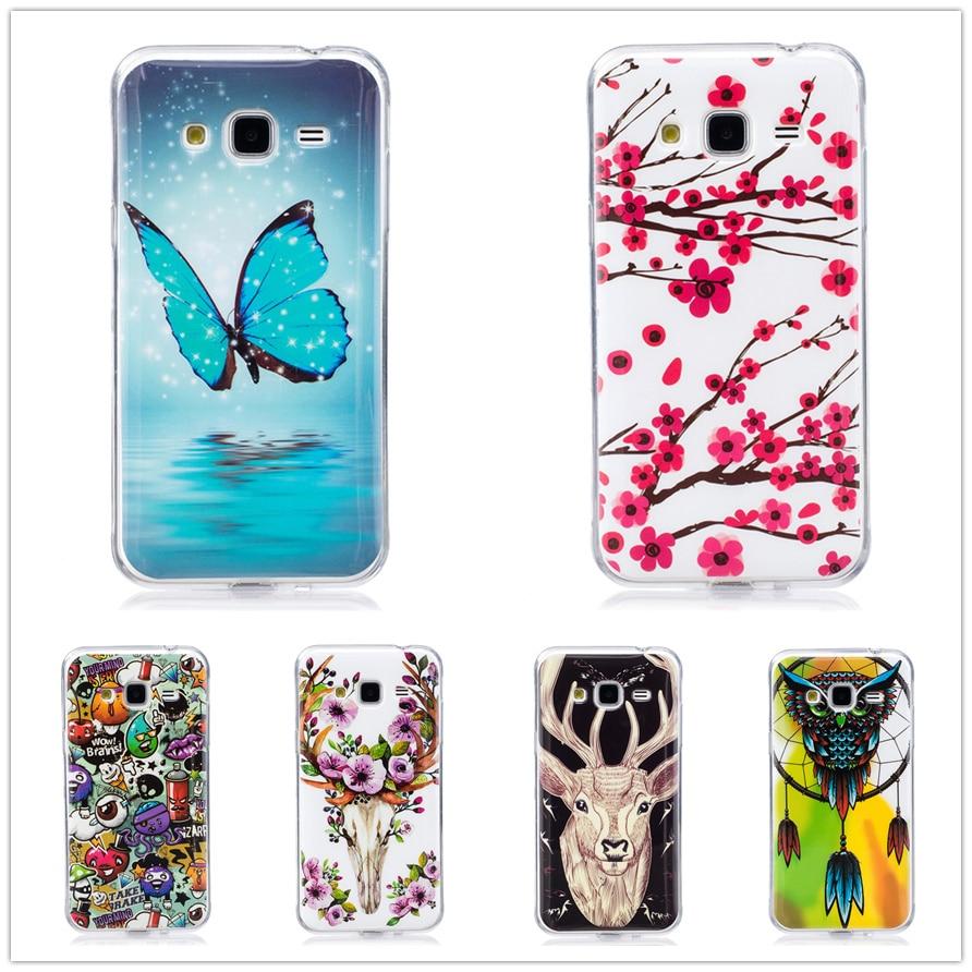 Galleria fotografica For coque Samsung Galaxy J3 Case Silicone Cover For fundas Samsung Galaxy J3 2016 J320 (6) Case SM-J320F Etui Telefoon Hoesjes