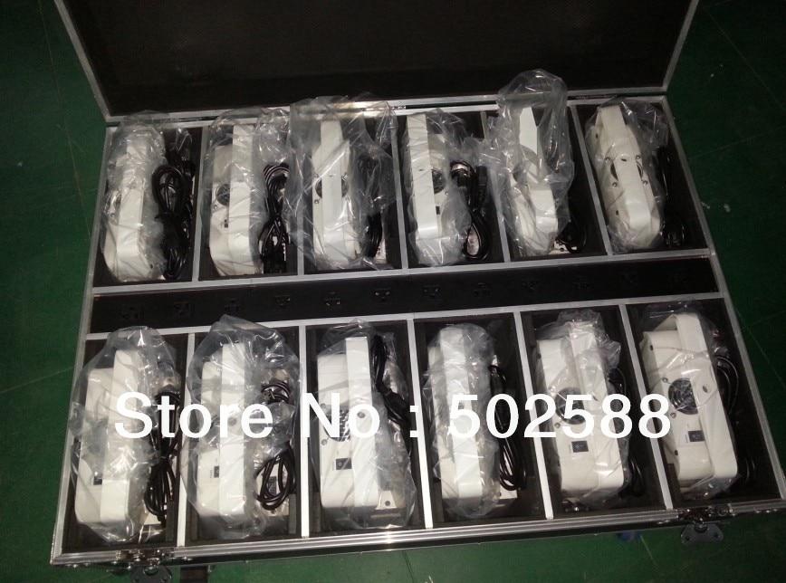 wholesale 6*10w 4in1 RGBW/A battery powered wireless dmx led flat par light,wireless led ...