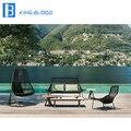 Новый стиль ткачество садовый диван уличная мебель веревочный диван стул