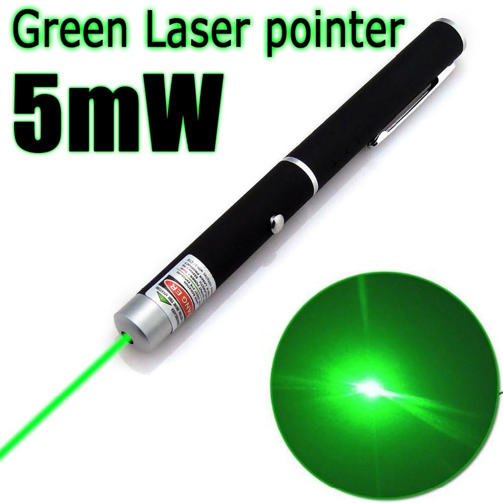 Powerful 5mW 532nm Green <font><b>Laser</b></font> Pointer Pen Beam Light Presentation Powerpoint Presenter High Power Hunting <font><b>laser</b></font> Sight device