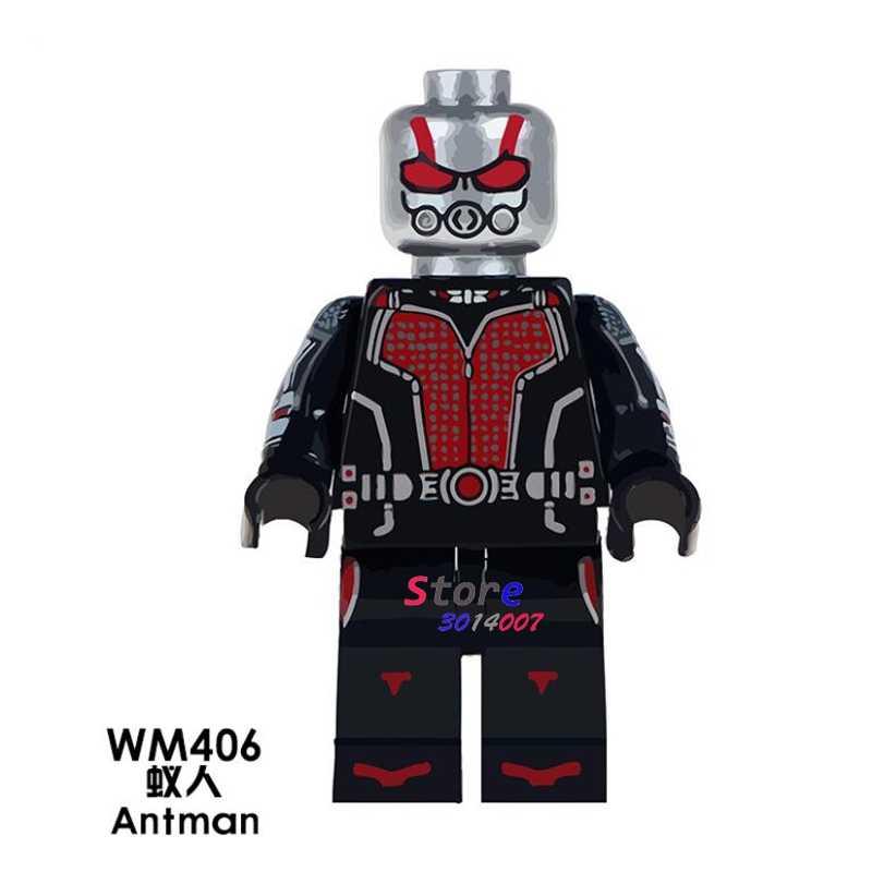 1PCS blocos de construção do modelo figuras de ação super-heróis starwars Antman hobby casa de Bonecas de aprendizagem diy brinquedos para presente de crianças