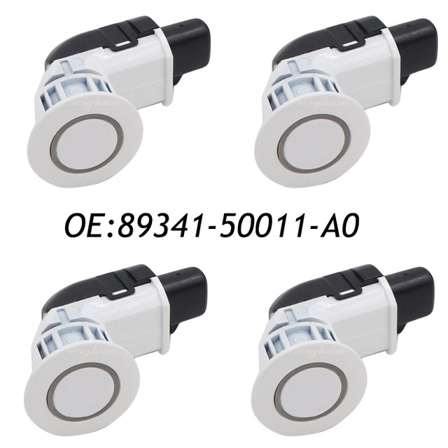 4PCS 89341-50011-A0 PDC Backup Parking Sensor For Toyota Lexus LS430 GS430 IS250 IS350 89341-50011