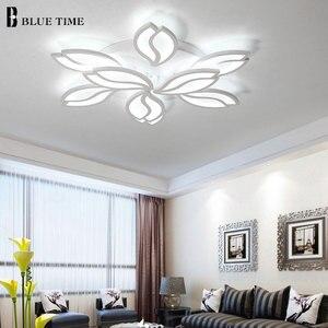 Image 3 - シンプルでモダンな Led シャンデリアリビングルームベッドルームダイニングルームのためルームランプ Lustres LED 天井シャンデリア照明器具照明器具