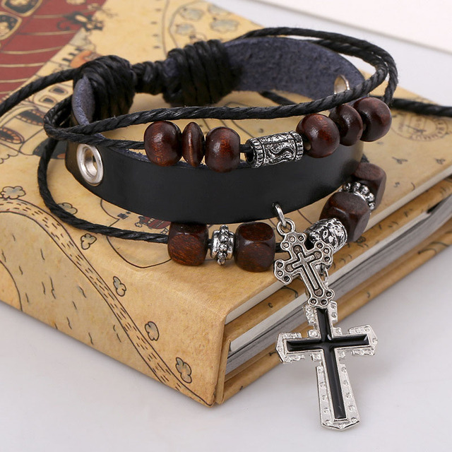 Cross Bracelets Vintage...