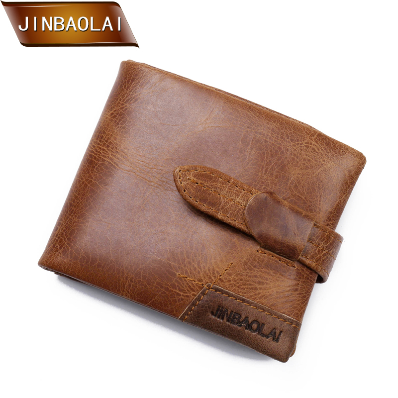 2018 Wallet Vintage Genuine Leather Men Wallets Zipper Coin Purse Short Men's Purse Male Card Holder Men Wallet Pocket Carteira joyir wallet women men leather genuine vintage coin purse zipper men wallets small perse solid rfid card holder carteira hombre