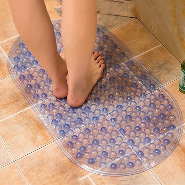 Waterproof Bath Mats Bathroom Carpet Toilet Mat Shower