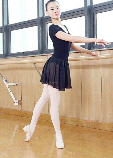 d6cd9e5ba6 Free shipping Black Purple pink S-XL Dancewear Ballet Leotard Exercise girl  dance clothes ballet dress suit adult