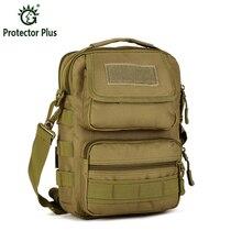 Férfi Molle táska Egyetlen vállpánt Vízálló, tartós Messenger Katonai hadsereg táska Kihúzható táska Katonai felszerelés